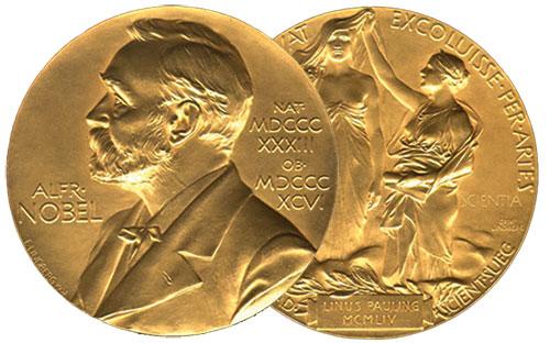 تاریخچه ی جایزه ی نوبل به انگلیسی