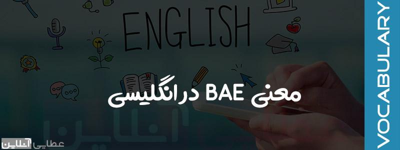 معنی bae در انگلیسی و کلمات خطاب عاشقانه